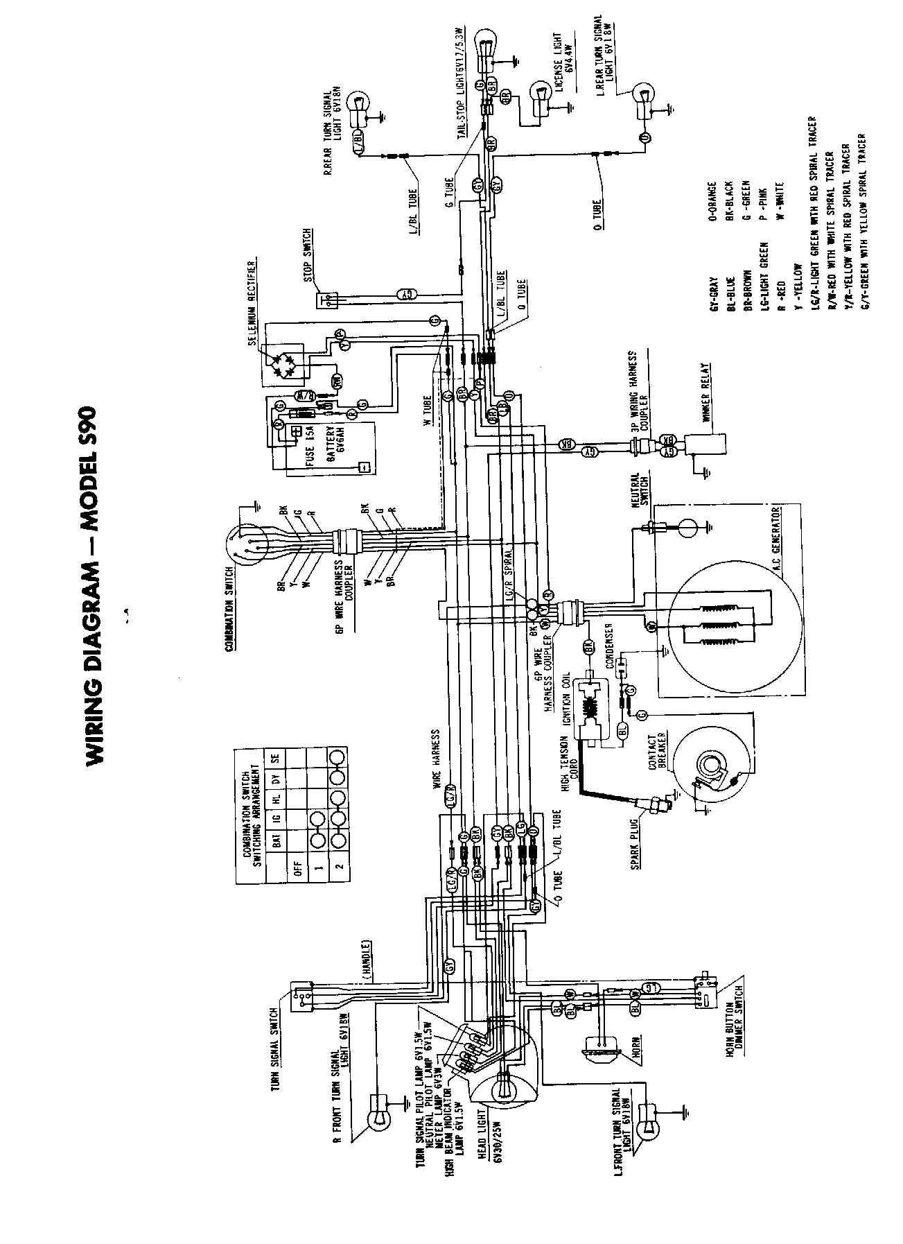 Wiring Diagram Honda Bf50