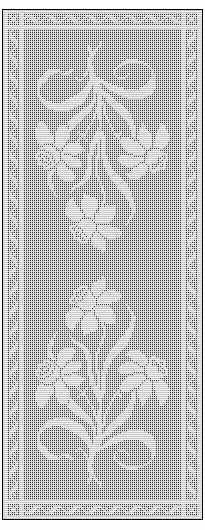 table runner: NEW 296 TABLE RUNNER CROCHET PATTERNS FREE