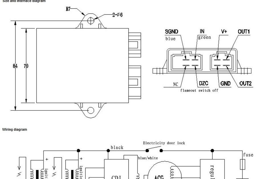 Chinese Quad Wiring Diagram : Chinese 110 Atv Wiring