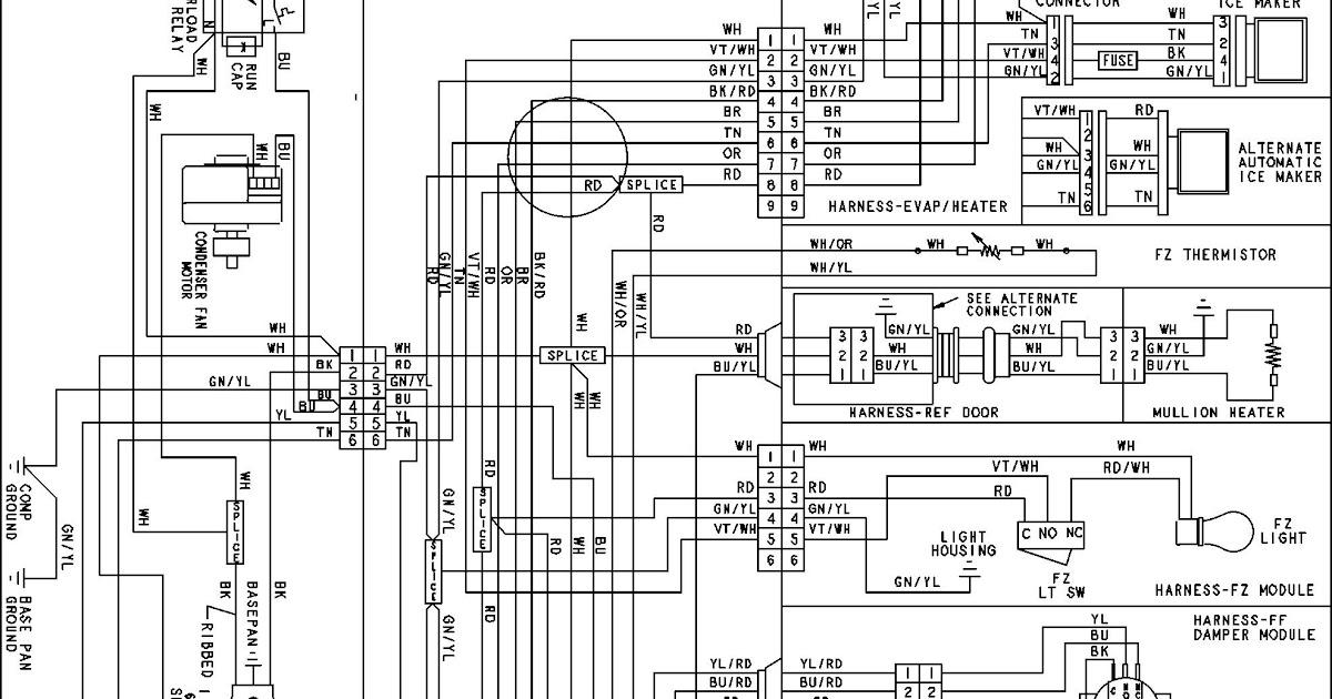 Amana Heat Pump Wiring Diagram : Amana Heat Pump