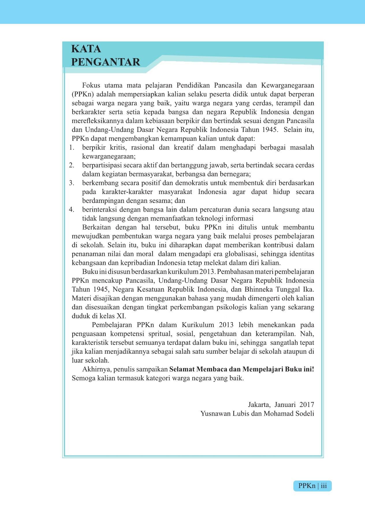 Rangkuman PPKn Kelas 11 Bab 3. Sistem Hukum dan Peradilan