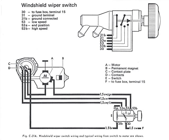 1978 Vw Beetle Starter Wiring Diagram Schematic