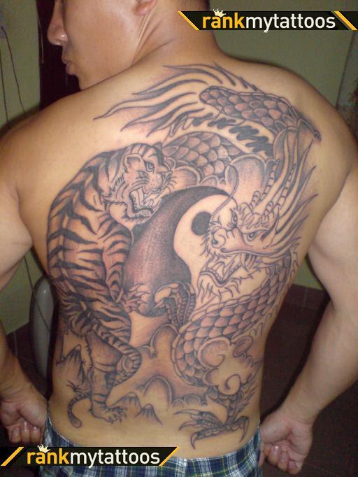 Chinese Triad Tattoos : chinese, triad, tattoos, Chinese, Triad, Dragon, Tattoo, Tatto