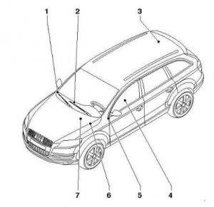 Audi Q7 Reductant Pressure Sensor