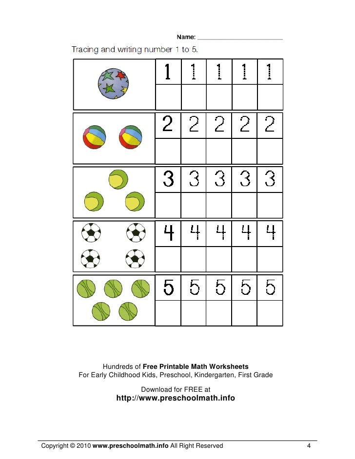 15 SINGAPORE MATH WORKSHEETS FOR PRESCHOOL
