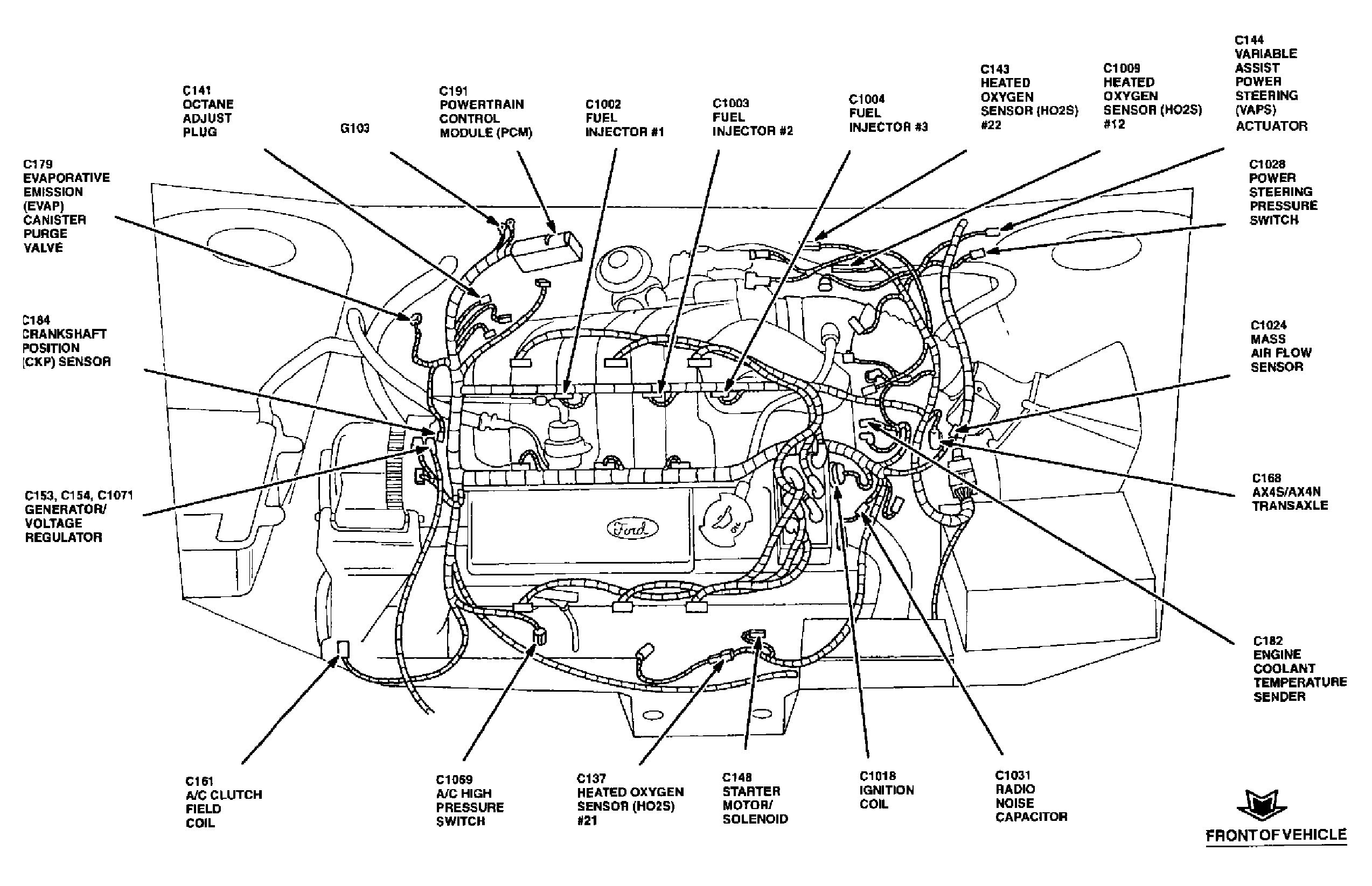 Aerostar Engine Diagram