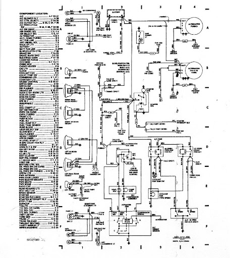 1987 Monte Carlo Wiring Diagram