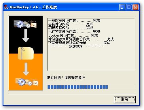 備份Firefox和Thunderbird的免費軟體:Mozbackup中文版