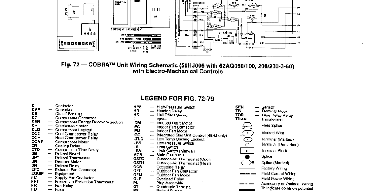 Carrier Rooftop Units Wiring Diagram / Name Honeywell