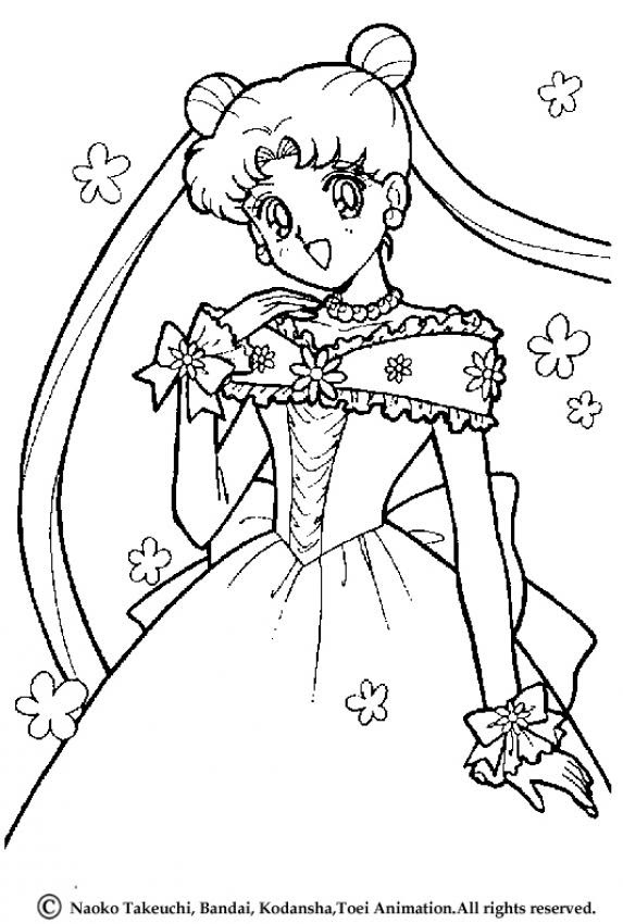 Irvin blog: sailor moon coloring pages