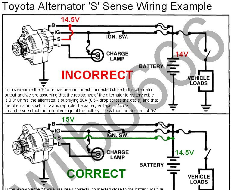 Noministnow: Bosch Alternator External Regulator Wiring