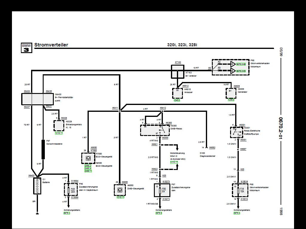 Schaltplan Bmw E36 Verdeck