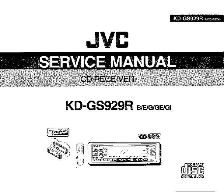 Jvc Kd Wiring Diagram / Jvc Kd Sr83bt Wiring Diagram