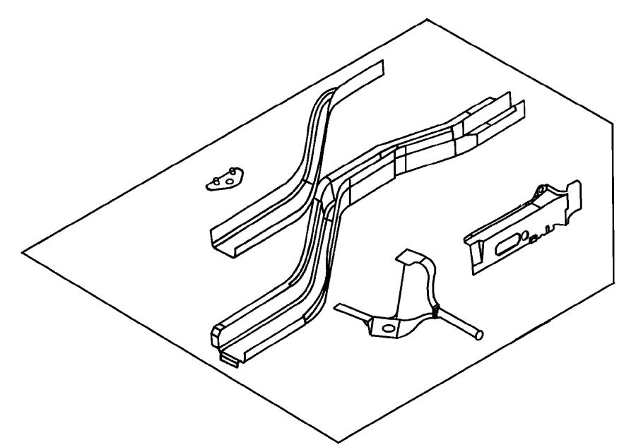 2004 Dodge Neon Rear Suspension Diagram : For 2000-2005