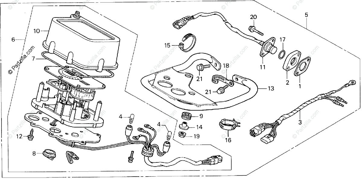 Wiring Diagram: 32 Honda Recon Parts Diagram