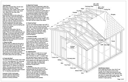 Baml: How to build 4x4 shed