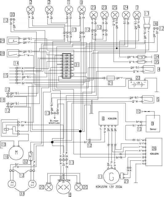 Vespa Lx 50 Schaltplan