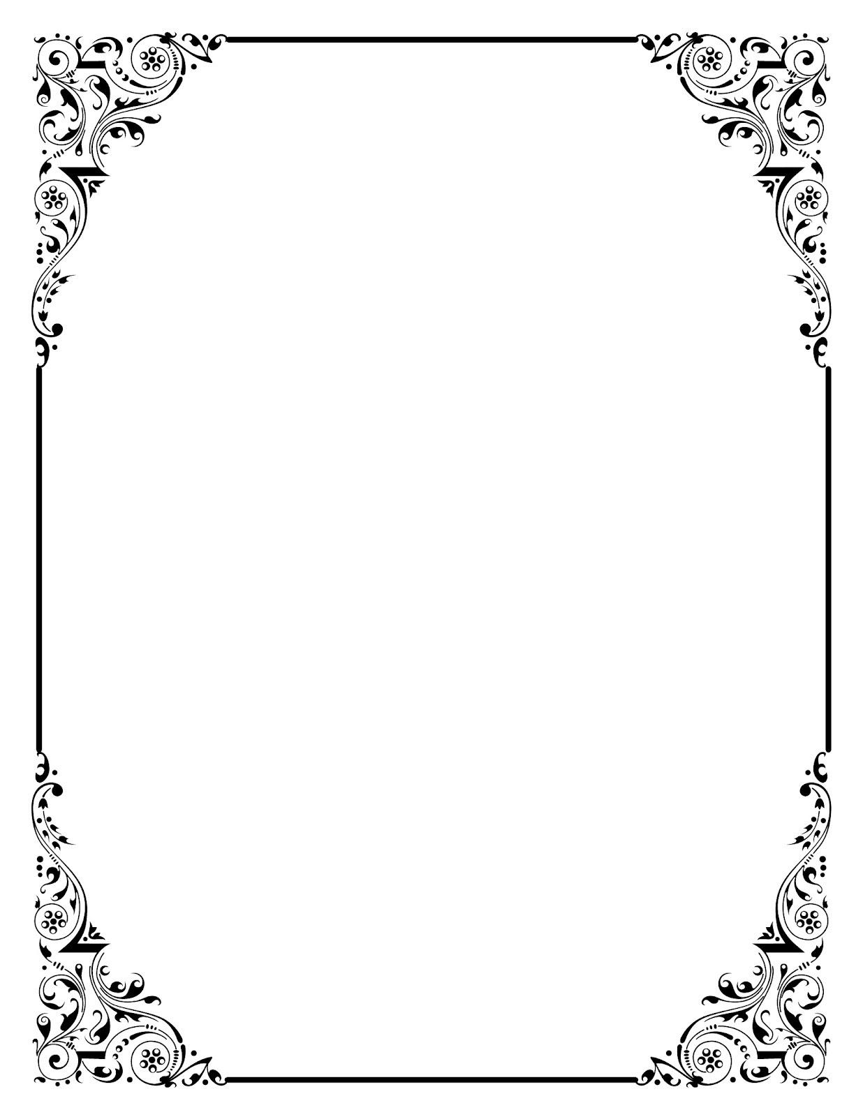 elegant invitation card border design png