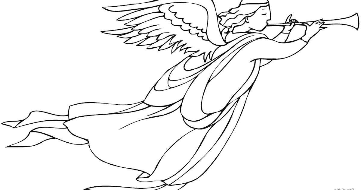 20 Best Free Guardian Angel Coloring Pages