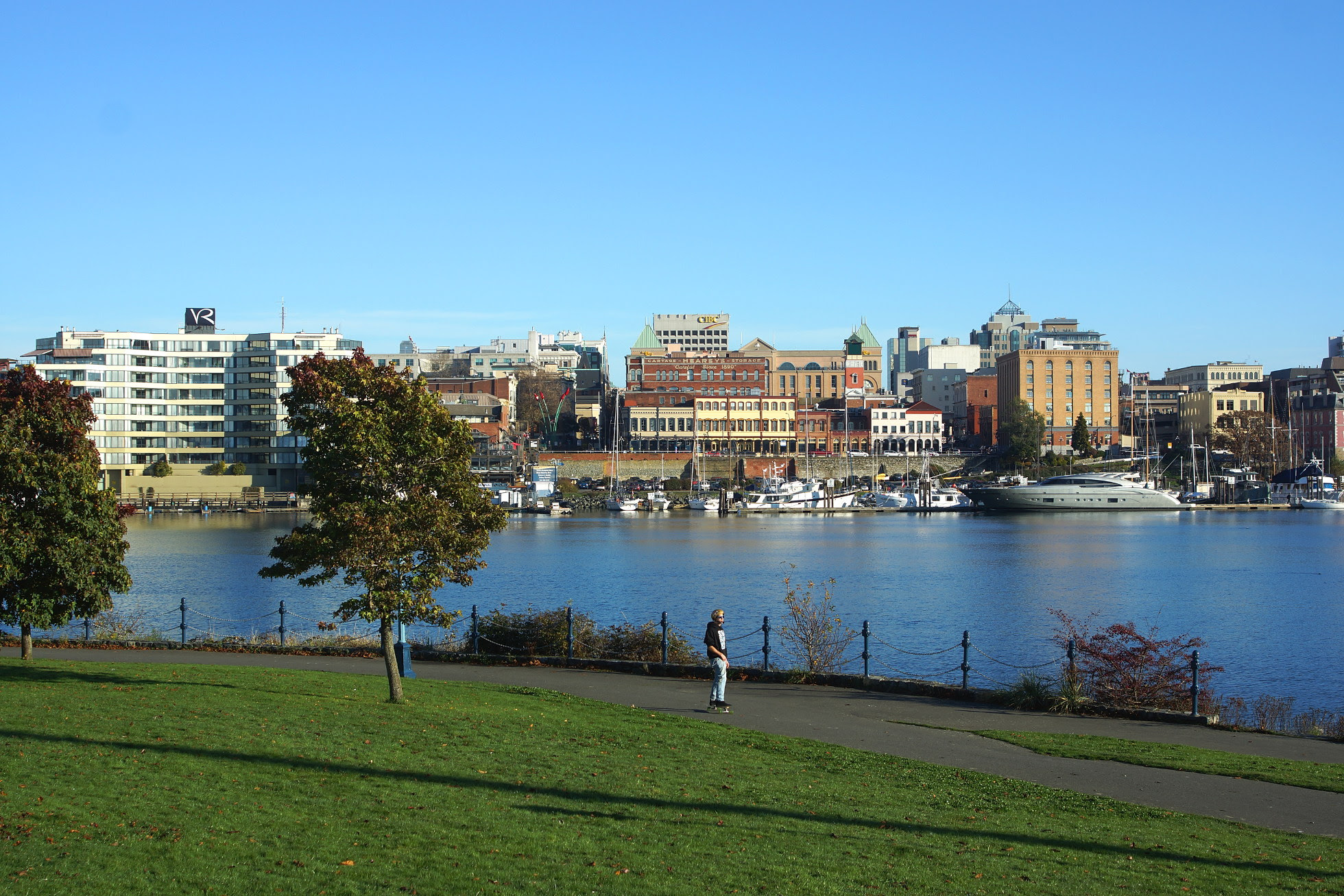 Beacon Hill Park Victoria Bc November