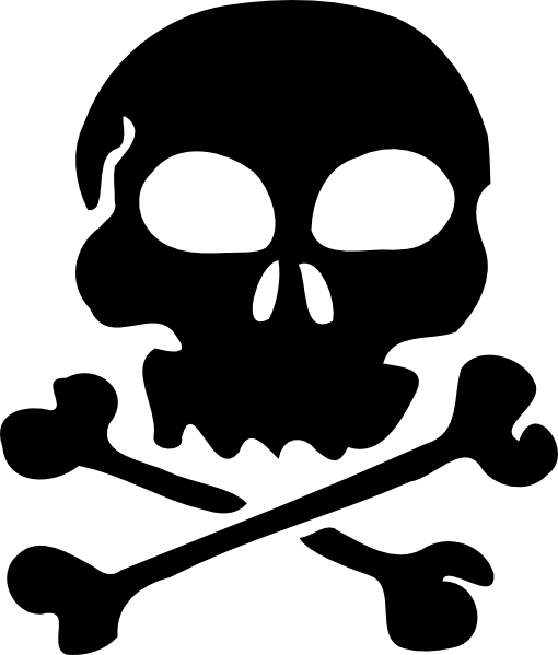 Totenkopf Pirat Malvorlage - Ausmalbilder