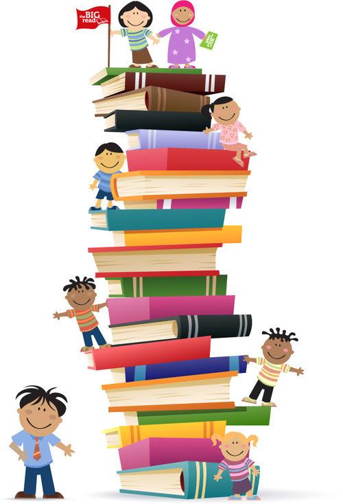 Gambar Orang Baca Buku : gambar, orang, Gambar, Animasi, Siswa, Membaca, IlmuSosial.id