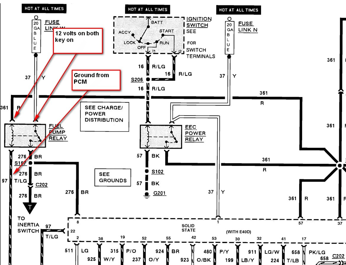 Ford Ignition Wiring Diagram Fuel