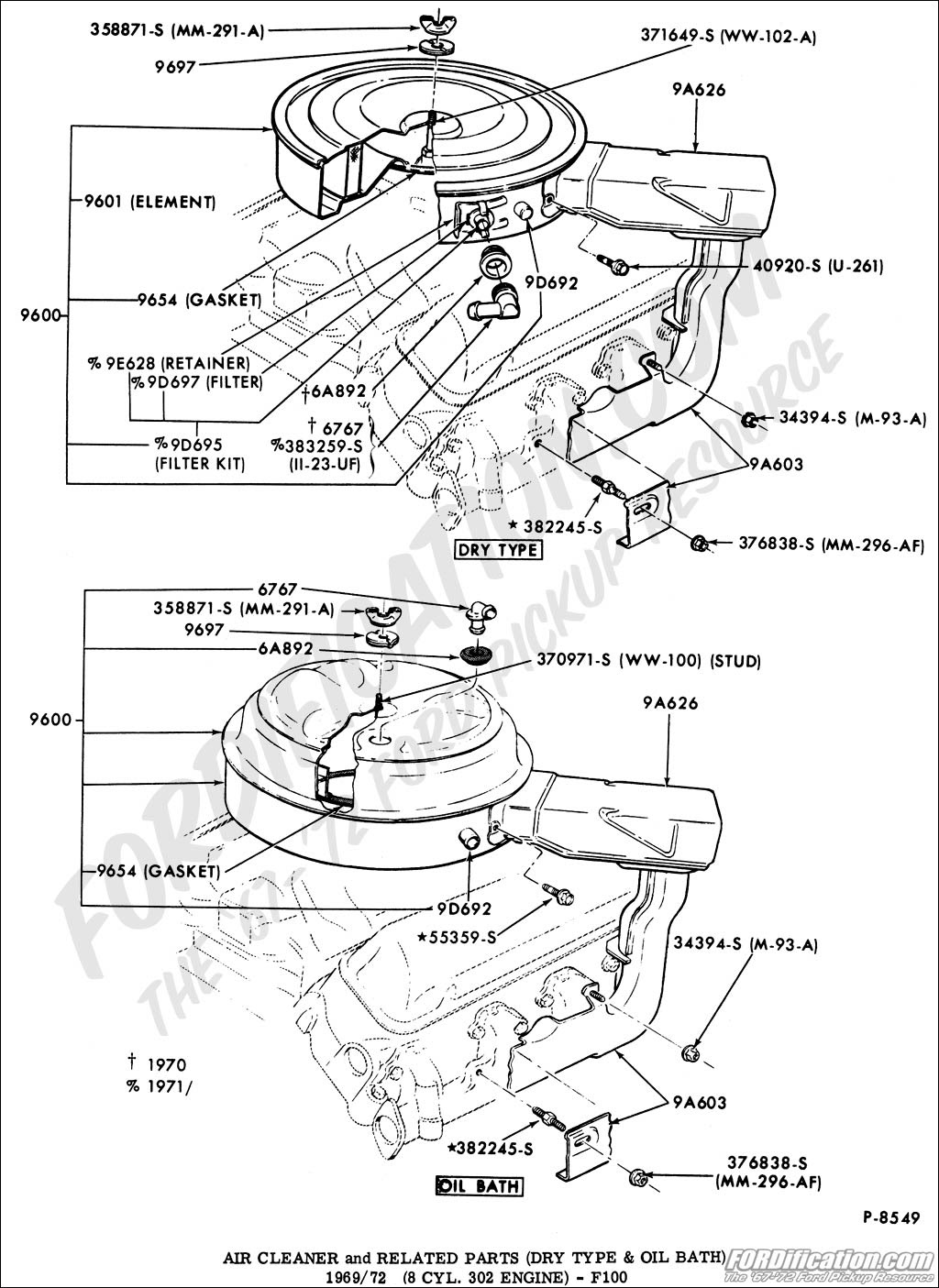 Ignition Wiring Diagram Ford 302 / 86 302 Ignition Control