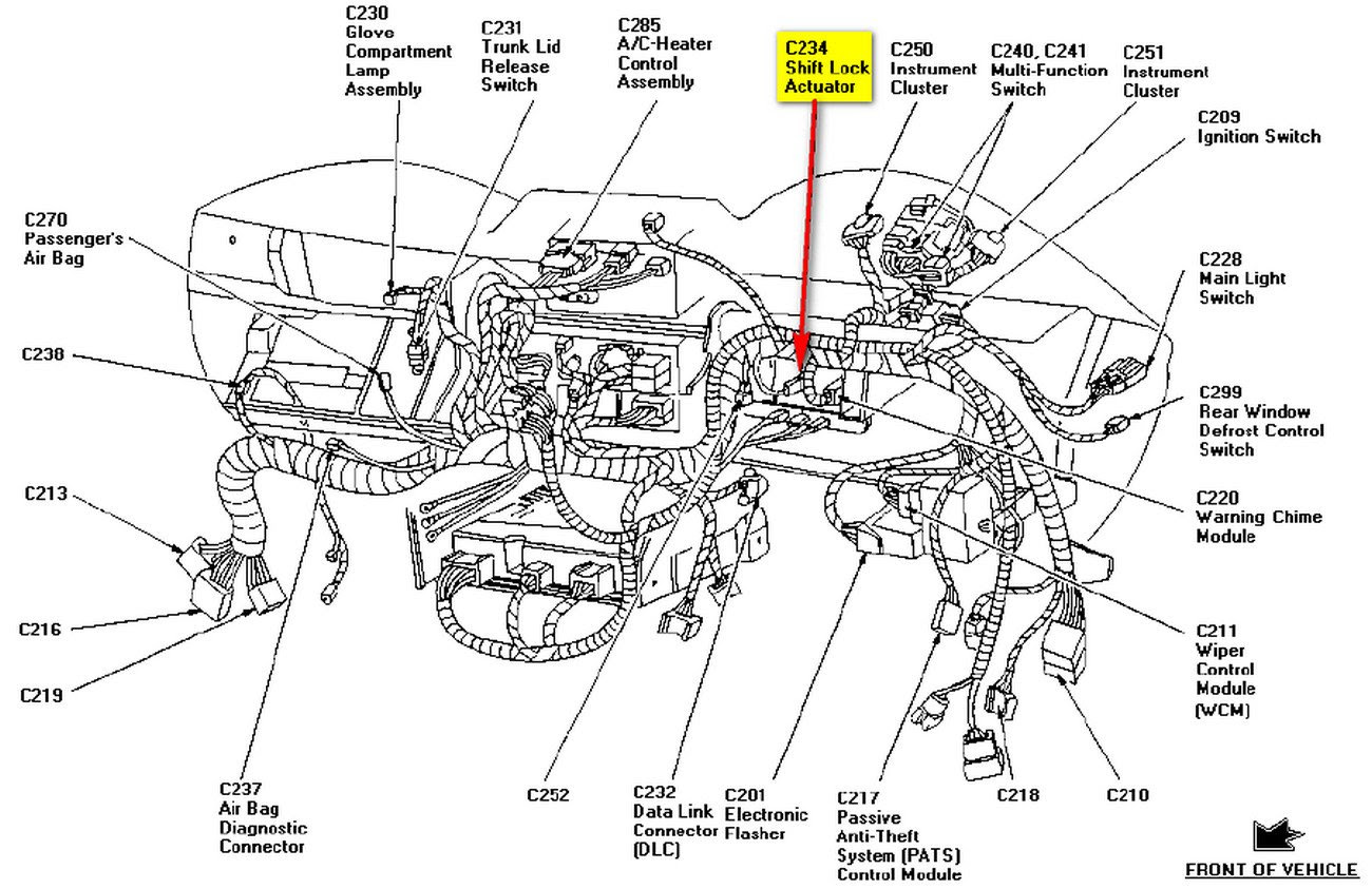Wiring Diagram: 29 1998 Ford Mustang Wiring Diagram