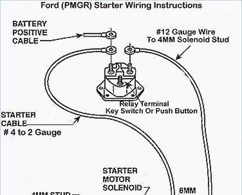1995 Ford F150 Starter Wiring Diagram : I Am Needing A
