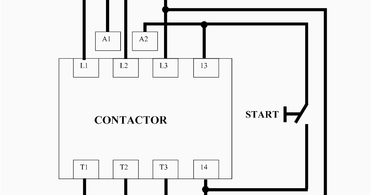 Single Phase Hager Contactor Wiring Diagram