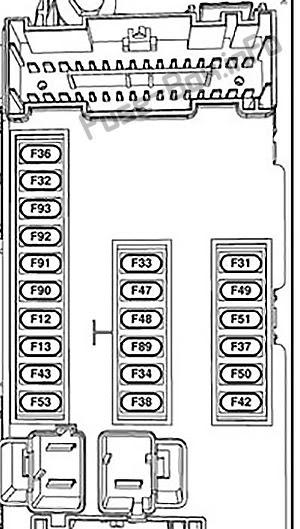 Jeep Xj Fuse Box Diagram : Jeep Grand Cherokee Zj 4wd 1996