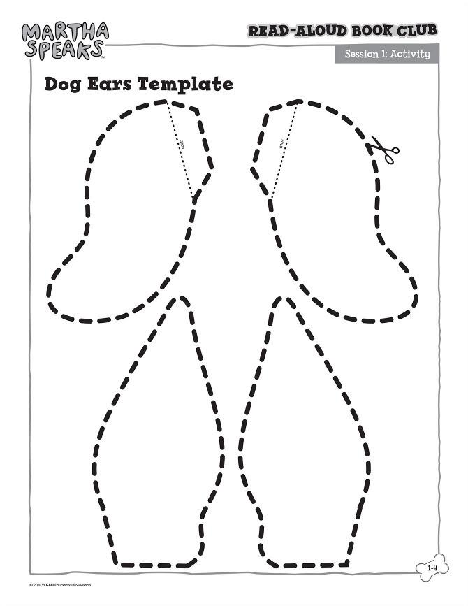 thebrownfaminaz: floppy dog ear printable