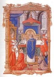 hanging pyx medieval church vitrearum churches mediaeval