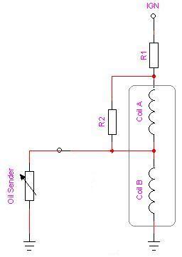 wiring diagram vdo oil pressure sender