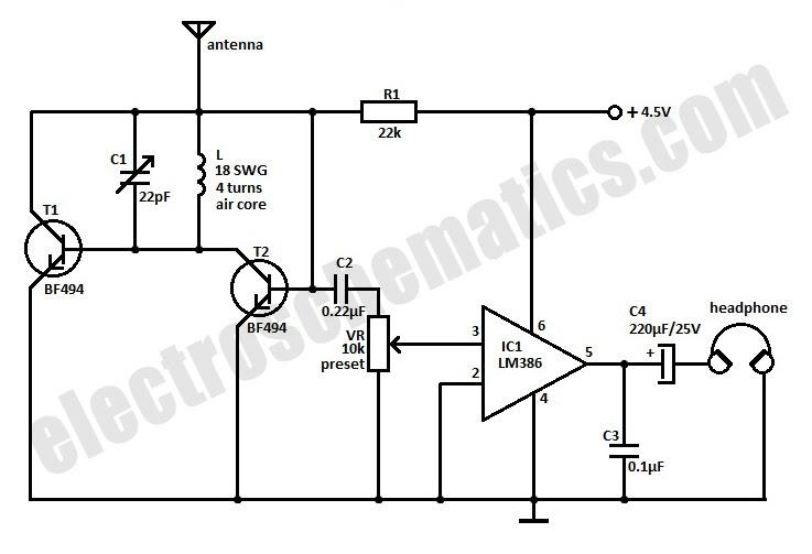 D Rudiant: Radio Station Circuit Diagram