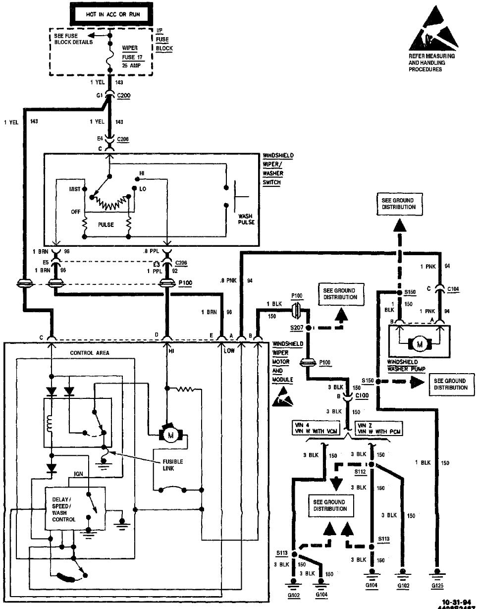 wiring diagram for 1997 chevy lumina