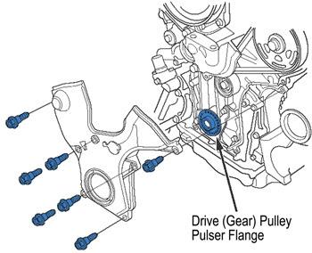 2007 Honda Odyssey Pulley Diagram