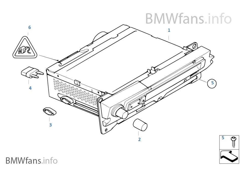 Audio System Bmw E61