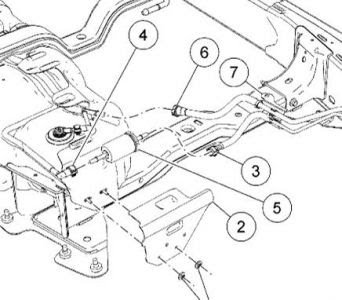 1996 Ford Ranger Fuel Filter Location