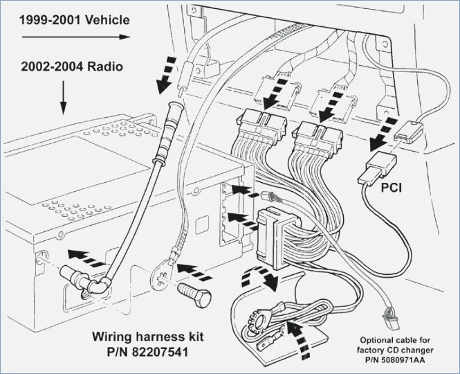 2001 Jeep Wiring Harnes