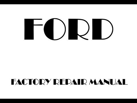 2011 Ford Expedition Repair Manual