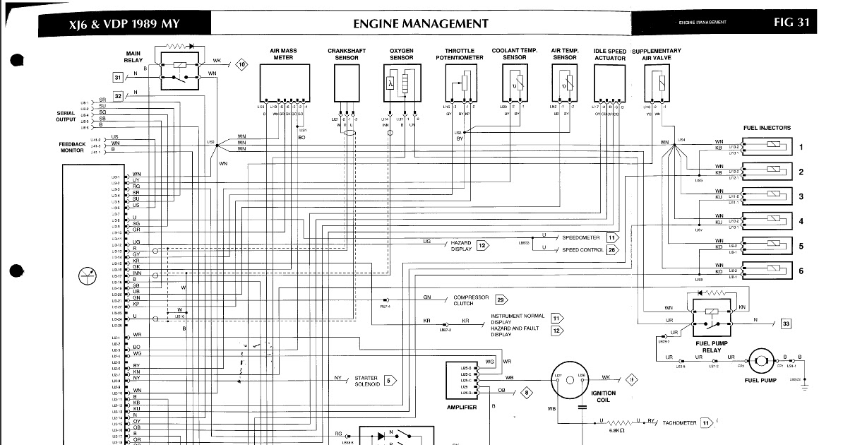 1994 Jaguar Xj6 Wiring Diagram