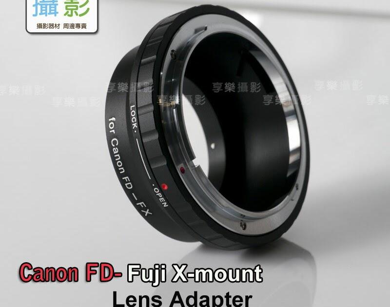 【不能不逛】[享樂攝影] Canon FD鏡頭轉接Fujifilm X-Mount 轉接環 X-Pro1 X接環 無限遠可合焦S.S.C FD FL LENS 銘鏡 AE-1