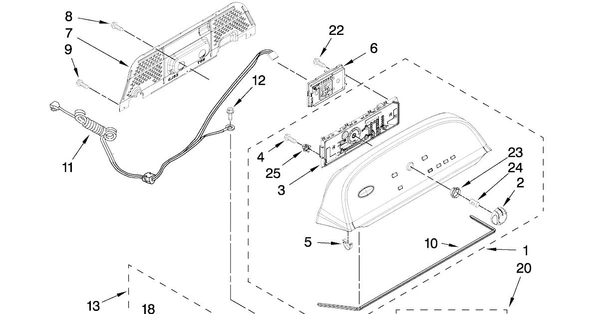 Whirlpool Cabrio Washer Diagram