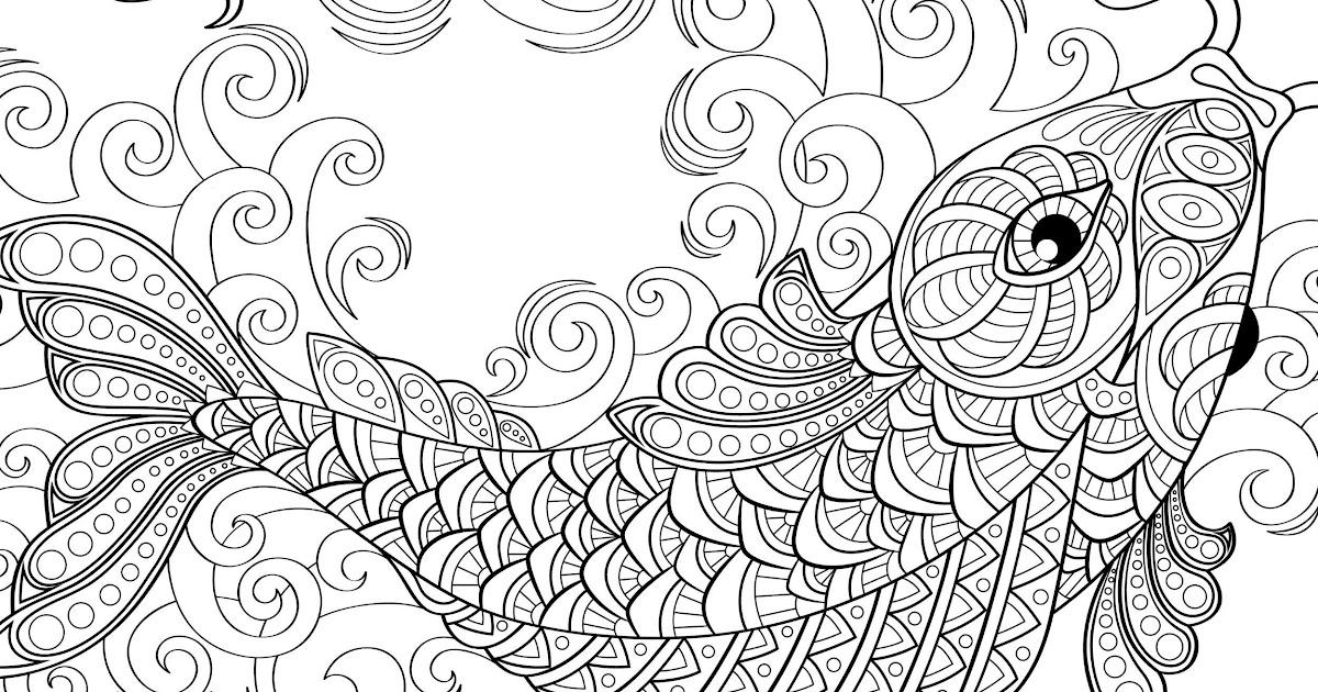 Malvorlagen Mandala Fische - Ausmalbilder Einhorn
