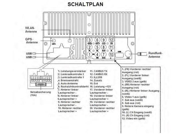 Schaltplan Opel Corsa D Radio