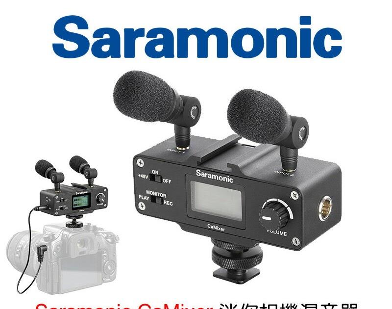 【實用商品介紹】[享樂攝影] Saramonic CaMixer 專業相機用混音器XLR監聽器 專業錄音設備 收音監聽 微電影錄影 XLR ...