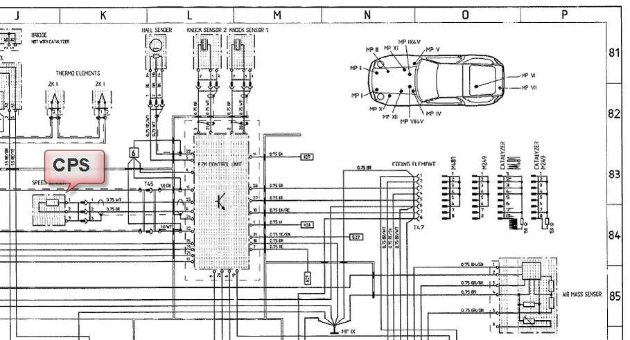 2003 Porsche Cayenne Wiring Diagram