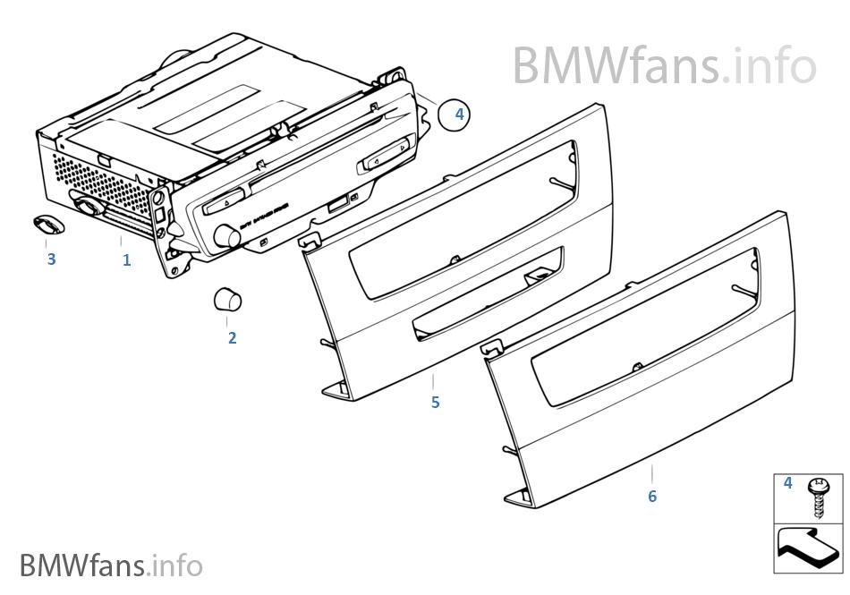 Audio System Bmw E90